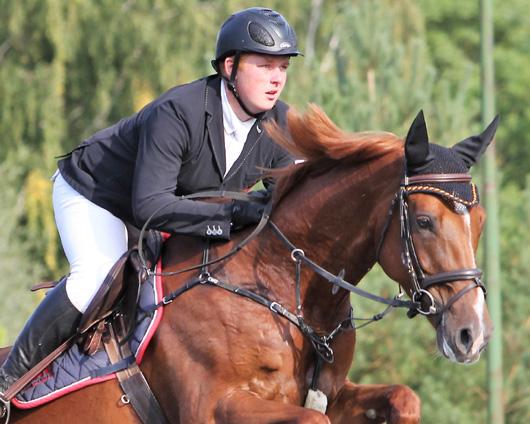 Der 19-jährige Christoph Maack (Kirch-Mummendorf) ist der einzige Reiter aus Mecklenburg-Vorpommern der aktuell Mitglied des Bundeskaders ist ist. Ergehört dem Nachwuchskader 2 der Altersklasse U14-U21 an. Foto: Jutta Wego