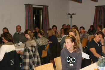 Blick in den Tagungsraum des Bürgerhauses in Güstrow beim Vielseitigkeitstag.