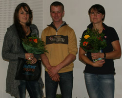 Andreas Brandt wurde Cupsieger bei den Reitern vor Marianne Bürenheide (r.).
