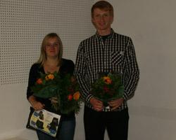 Bei den Jungen Reitern hat Stephan Donst den Cupsieg aus dem Vorjahr verteidigt und Andrea Sack wurde Zweite.